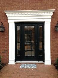 interior trim styles front door winsome front door moulding design photos front door