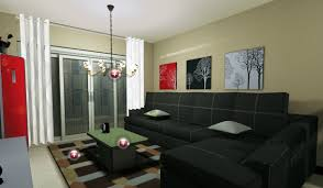 simple design living room home art interior