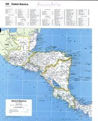 Central America Map And Capitals by Usa Map Bing Images Detailed Political Map Of Central America