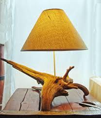 Nautical Lamps Coastal Creations U0026 Design Driftwood Lamps Beachcombed Creations