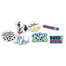 101 dalmatians spot counting bulletin board eureka