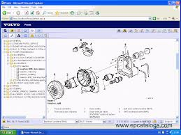volvo construction equipment prosis 2010 spare parts catalogue