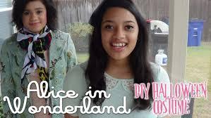 diy alice in wonderland costume youtube