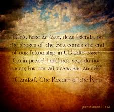 hope quotes gandalf quote on losing a loved one daily quotes of the life