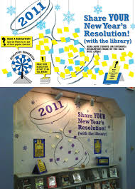 new year s resolutions books library marketing design new year resolution display 2011