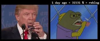 Drinking Water Meme - drinking water donald trump know your meme