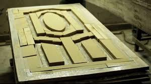 action tesa door skin make door with cold pressing process youtube