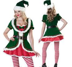 discount santa elves costumes 2017 santa elves costumes on sale
