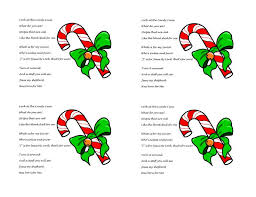 Christmas Candy Craft - candy cane template made these cute signs for candy cane inn
