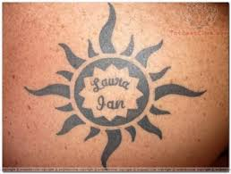 tribal sun designs