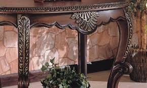 Foyer Accent Table Lovely Fantastic Entryway Accent Table Warm Brown Finish