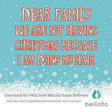 rhyming quotes about christmas christmas salon quotes 17 free downloads for your hair salon
