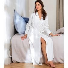 la redoute robe de chambre femme le peignoir femme polaire la redoute un vrai cocon
