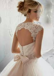 wedding dresses with bows lace back wedding dress with bow naf dresses
