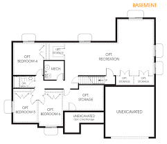hadley rambler floor plan utah edge homes