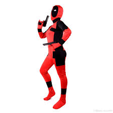 the avengers deadpool costume cosplay halloween 2016 newest
