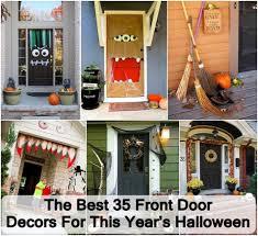 best image of front door halloween decorations all can download