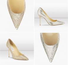 jimmy choo shoes wedding gold and silver wedding shoes by jimmy choo on eweddinginspiration