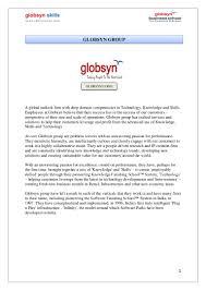 Edifecs Interview Questions Internship Final Report On Globsyn Skills Development Ltd