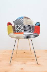 Armchair Upholstered Style Armchair Upholstered H Base Chrome
