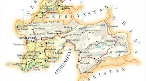 Tajikistan Map My Country U2013 Tajikistan Maripov