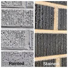 is it better to paint or stain your kitchen cabinets brick painting or brick staining brickimaging stayntech