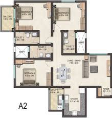 1536 sq ft 3 bhk 3t apartment for sale in sobha limited avenue