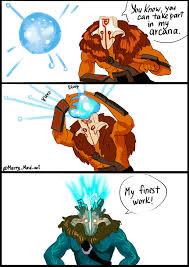 Juggernaut Meme - wisp juggernaut and his arcana dota2