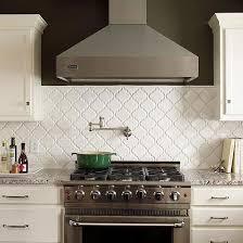 tile backsplash ideas for behind the range quatrefoil kitchen