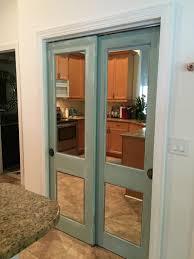 Mirrored Bifold Doors For Closets Vintage Sliding Closet Door With Mirror Of Captivating Closet Door