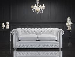 at home chesterfield sofa white chesterfield sofa fabrizio design clean and bright