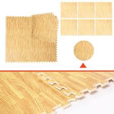 48 sq ft eva foam floor interlocking mat show floor gym mat wood