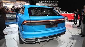 audi detroit audi q8 concept previews future flagship coupe suv