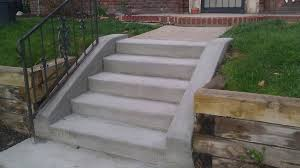 concrete stairs construction how to stain hgtv pouring steps