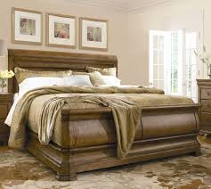 King Sleigh Bed Set by King Louie P U0027s Sleigh Bed By Universal Wolf And Gardiner Wolf