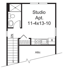 apartment garage floor plans sandwich generation housing ideas house plans and more