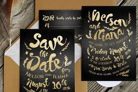black and gold wedding invitations 90 gorgeous wedding invitation templates design shack