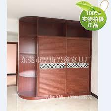 Sliding Door Wardrobe Cabinet Whole Wardrobe Old Room Modern Minimalist Sliding Door Wardrobe