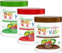 greens first products page