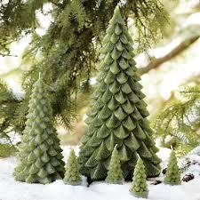 decorative evergreen trees iron
