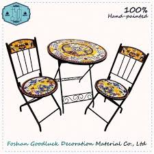 outside chair and table set china mosaic outdoor table set wholesale alibaba