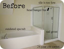 10 Home Design Trends To Ditch In 2015 Until Last Month This Was Our 24 Year Old Master Bathroom Minus