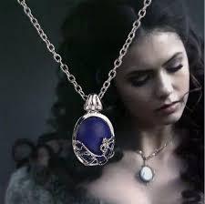 elegant pendant necklace images The vampire diaries elena gilbert blue stone elegant locket jpg