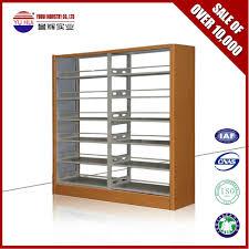 high quality 6 tier steel bookshelf iron bookshelf stainless