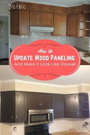 wood paneling makeover best 25 painting wood paneling ideas on pinterest white wood