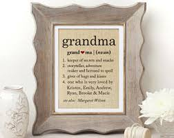 grandmother gift gift etsy