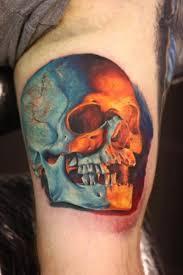 80 amazing example of cool skull tattoo designs golfian com