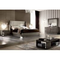 chambre a coucher taupe beverly laque velours taupe ensemble chambre a coucher