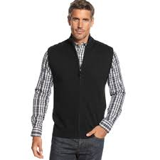 sweater vests mens black sweater vest cardigan with buttons