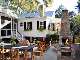 kitchen outdoor kitchen and fireplace designs decorating ideas